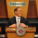 SECAUCUS, NJ - MAY 17:  Toronto Raptors general manager Bryan Colangelo looks on during the 2011 NBA Draft Lottery at the Studios at NBA Entertainment on May 17, 2011 in Secaucus, New Jersey.  (Photo by Jesse D. Garrabrant/NBAE via Getty Images)