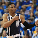 Oklahoma City Thunder v Dallas Mavericks - Game Three Getty Images