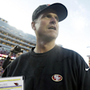 49ers win 20-17 in Jim Harbaugh's last game The Associated Press