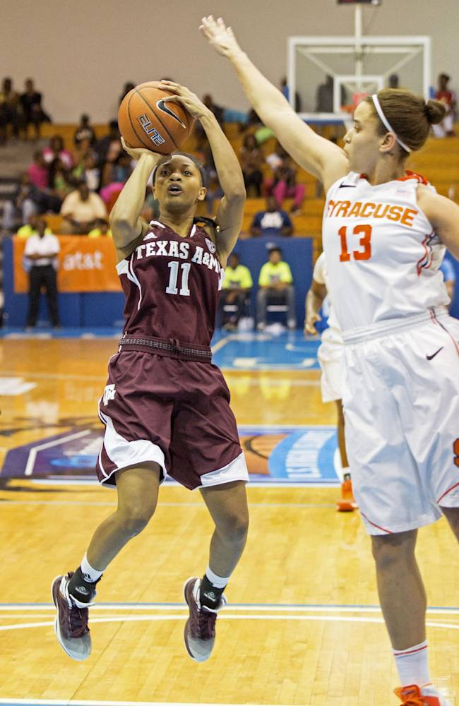 Syracuse upsets No. 12 Texas A&M 78-63