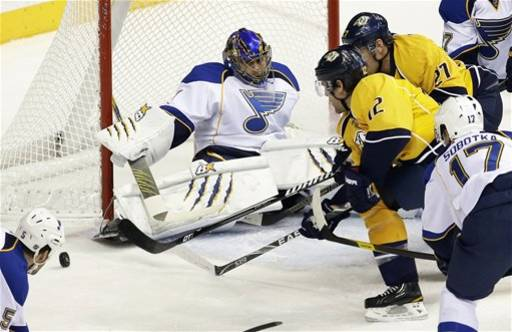 Blues Predators Hockey