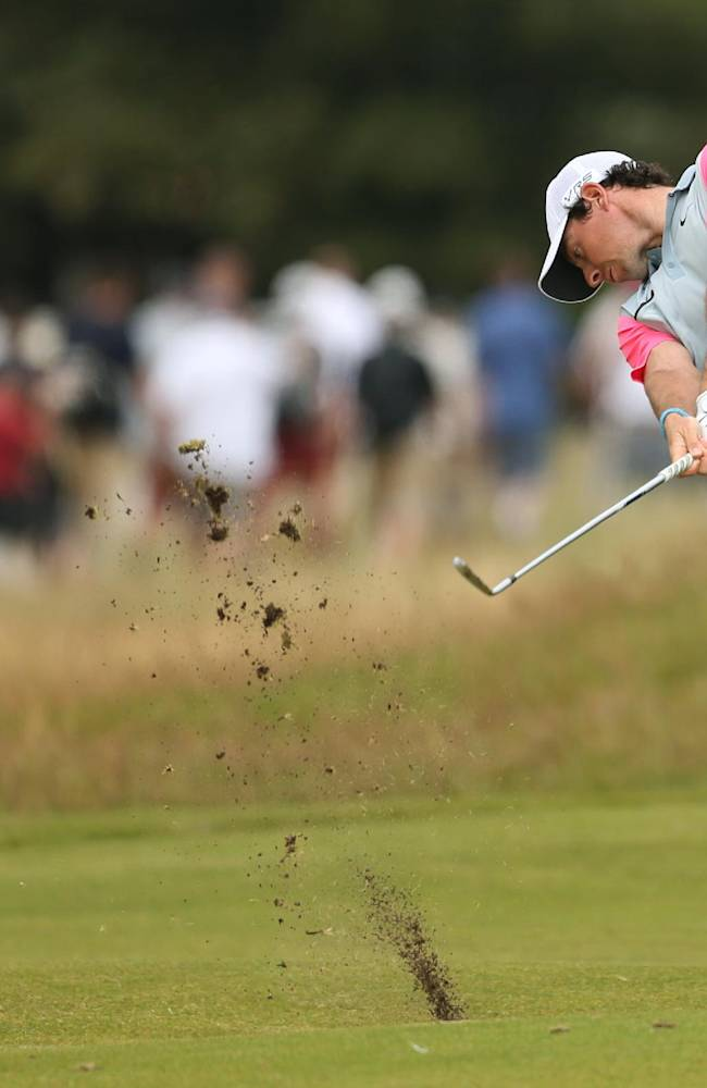 Rory McIlroy wins British Open for 3rd major