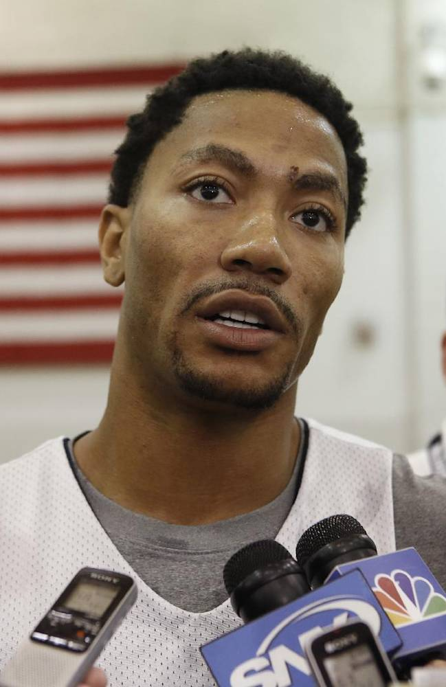 Rose sits out US exhibition vs Dominican Republic