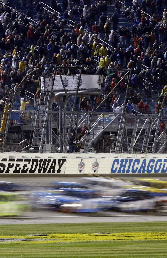 Matt Kenseth wins opening Chase race at Chicago