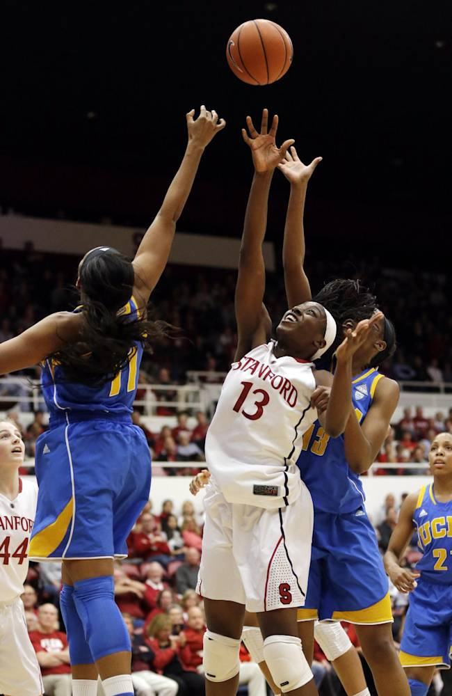 Ogwumike leads No. 4 Stanford over UCLA