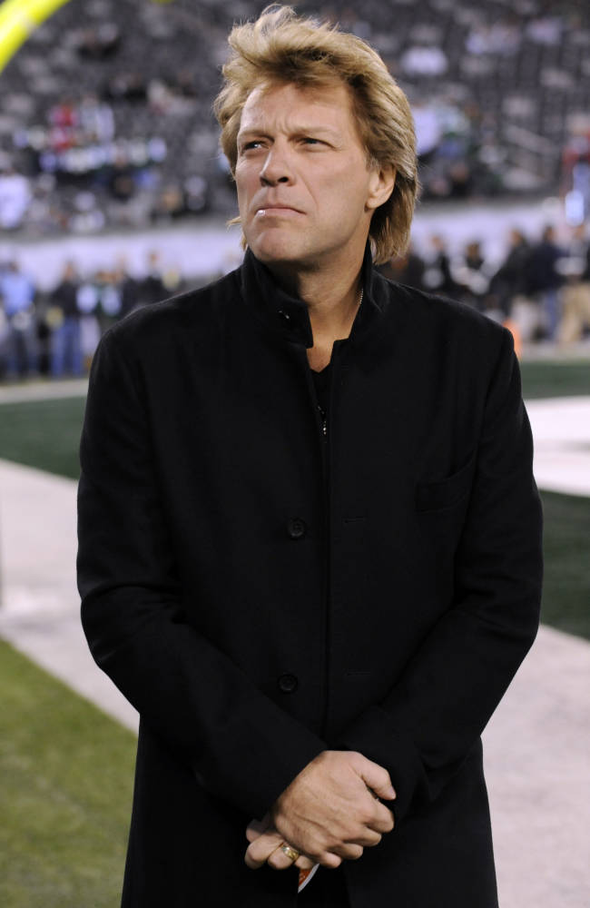 AP sources: Bon Jovi part of group eyeing Bills