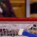 New York Rangers goalie Henrik Lundqvist, of Sweden, makes a save during warmups before the start of an NHL hockey game against the Boston Bruins, Saturday, March 28, 2015, in Boston. (AP Photo/Mary Schwalm)