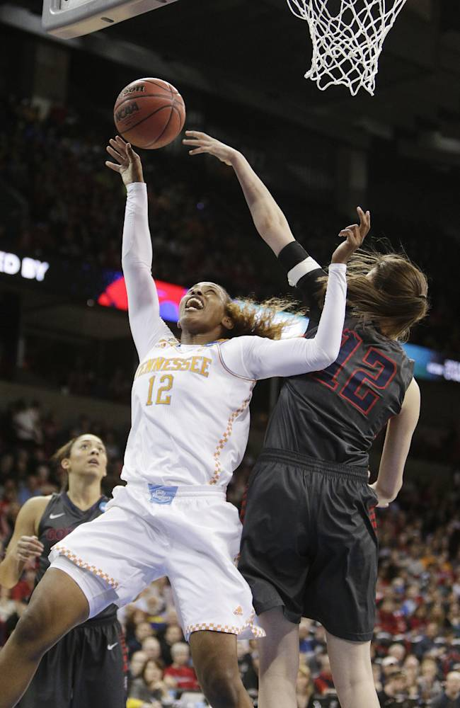 No. 2 seed Tennessee beats No. 11 Gonzaga 73-69 in overtime