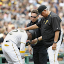 McCutchen hit by pitch, elbow injured as Pirates top Braves The Associated Press