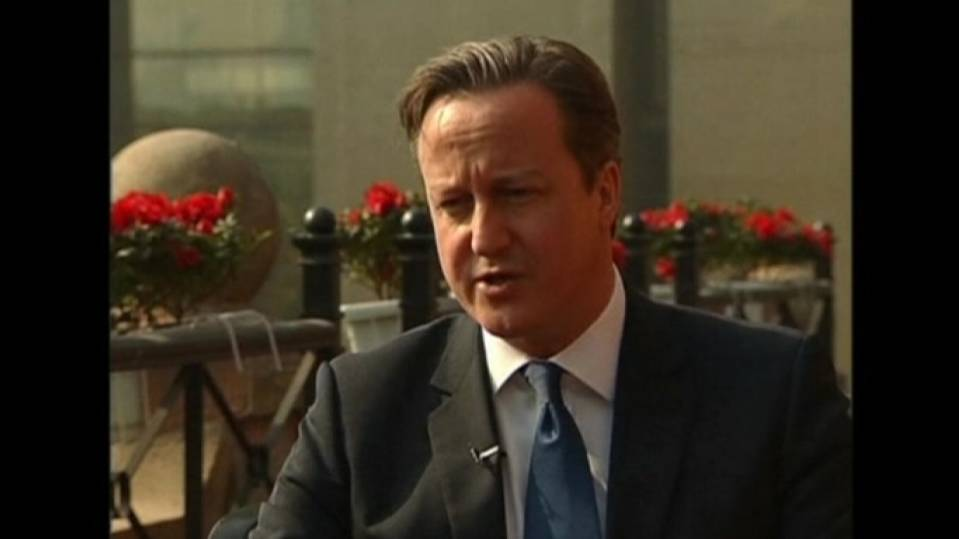 Cameron says Britain open to Chinese investments