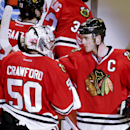 Toews has 2 goals, 2 assists in Blackhawks' win over Isles The Associated Press