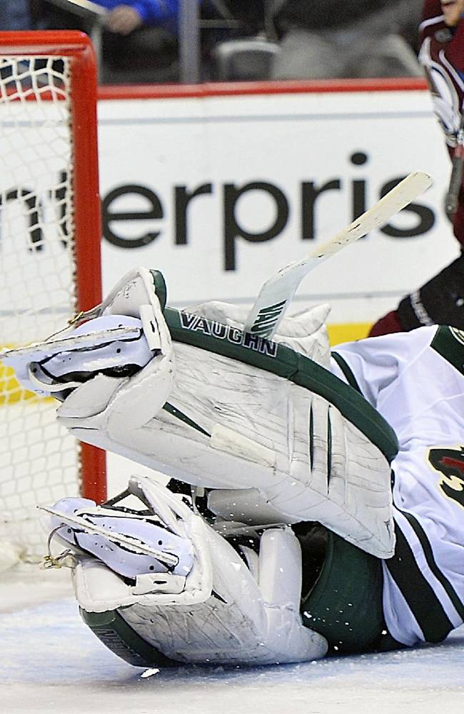 Wild beat Avs 5-4 in OT in Game 7 to advance