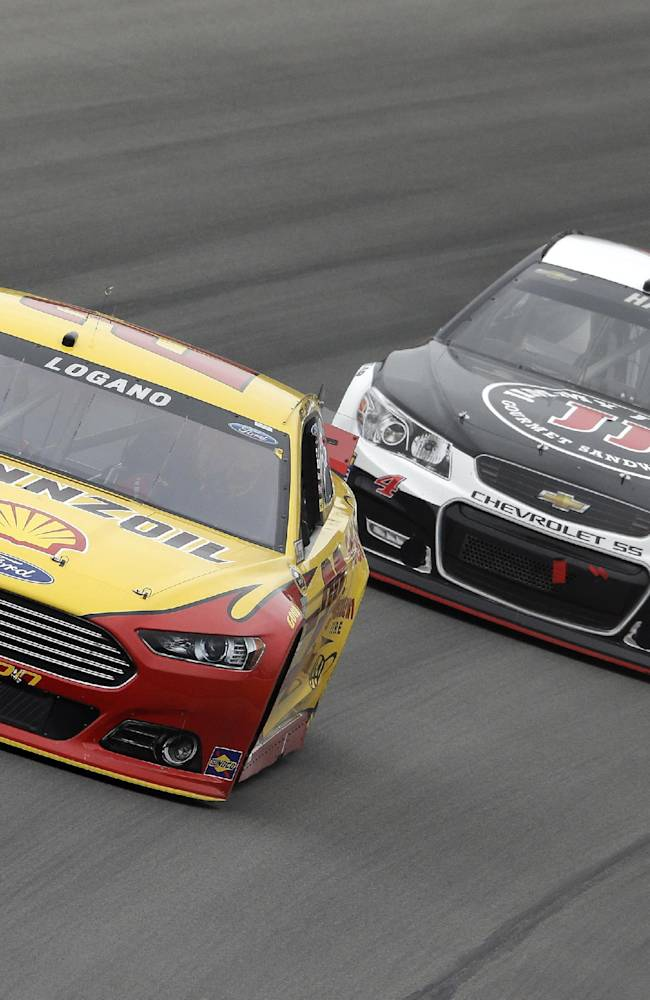 Logano edged Keselowski for first win at Bristol