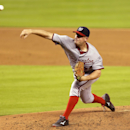 Washington Nationals starting pitcher Jordan Zimmermann throws during the third inning of the MLB National League baseball game against the Miami Marlins, Monday, April 14, 2014, in Miami The Associated Press