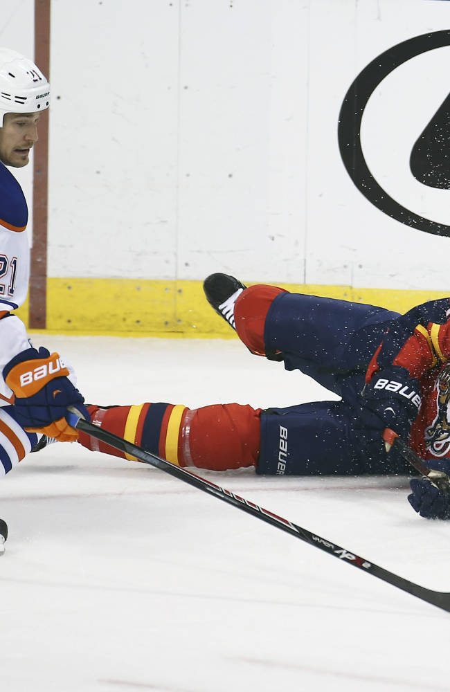 Acrobello's OT goal lifts Oilers past Panthers 4-3