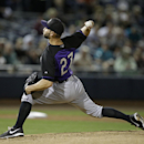Rockies' Chatwood leaves start with leg injury The Associated Press