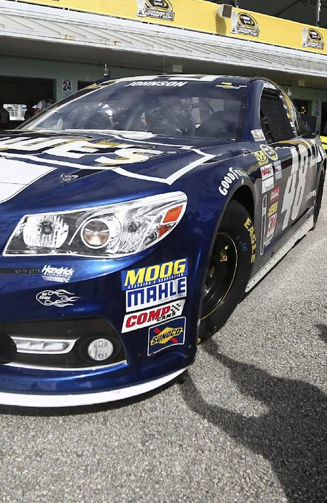 Kenseth, Johnson top final practice at Homestead