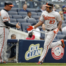 Young, Jones, Wieters HRs, Orioles batter Yankees The Associated Press