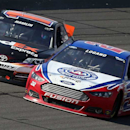 Stewart steams after Logano, Hamlin wreck