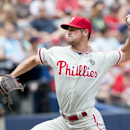 Hamels, 3 Phils relievers combine to no-hit Braves (Yahoo Sports)
