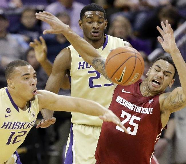 Huskies cruise to 72-49 win over Cougars