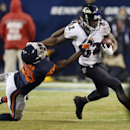 Baltimore Ravens wide receiver Torrey Smith (82) runs against Chicago Bears cornerback Zack Bowman (38) during the second half of an NFL football game, Sunday, Nov. 17, 2013, in Chicago The Associated Press