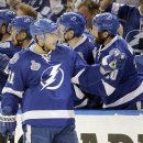 The Latest: Tampa ties it up on Filppula goal, 1-1 after 2 The Associated Press