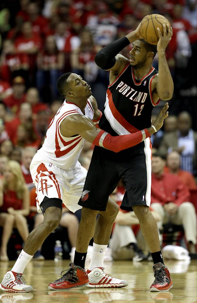 Blazers can close out series in Houston