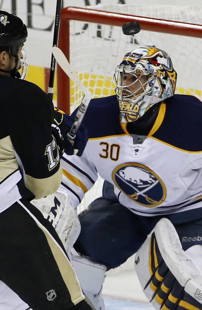 Fleury, Penguins beat Sabres 3-0