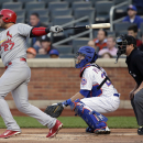 Cardinals tag Colon, knock Mets out of 1st with 9-0 rout The Associated Press