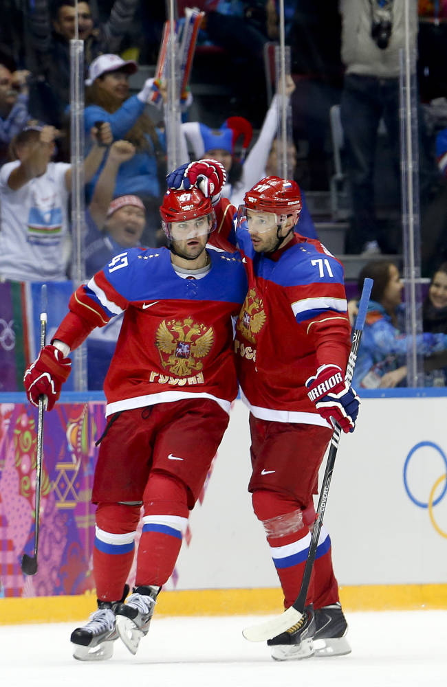 Russia beats Norway 4-0, dodges hockey elimination