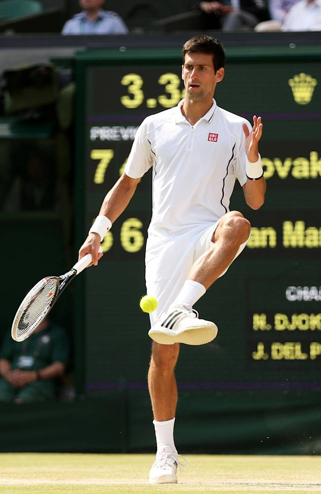 The Championships - Wimbledon 2013: Day Eleven
