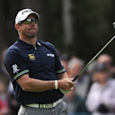 CORRECTS DATE - England's Lee Westwood in action during day three of the BMW PGA Championship at the Wentworth Club,  Virginia Water, England,  Saturday May 25, 2013. (AP Photo / Nigel French, PA)