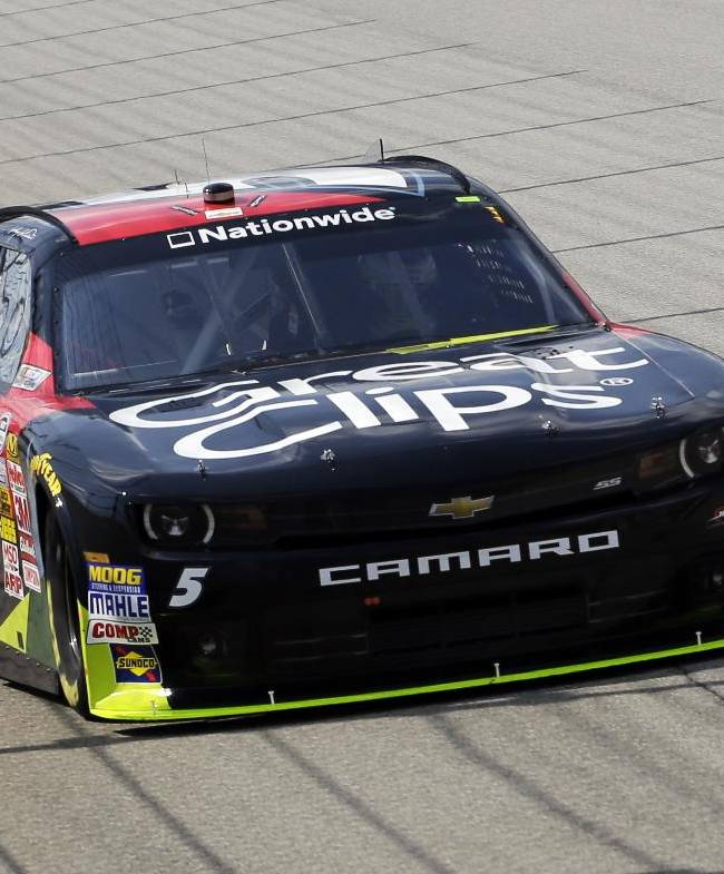 Kahne, Larson looking to learn at Chicagoland
