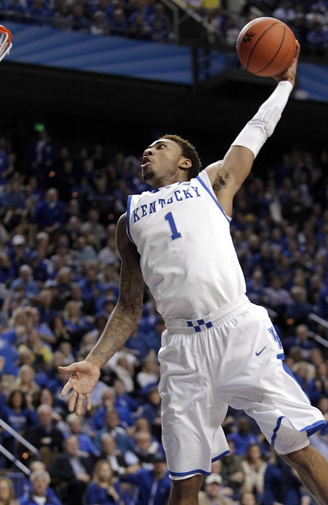 No. 13 Kentucky beats Tennessee 74-66