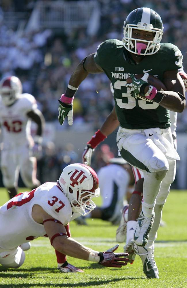Michigan St finds reliable RB in Langford