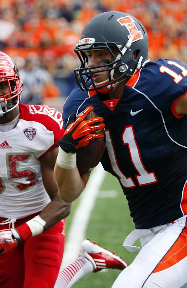 After all these years, Illini focus on tight ends