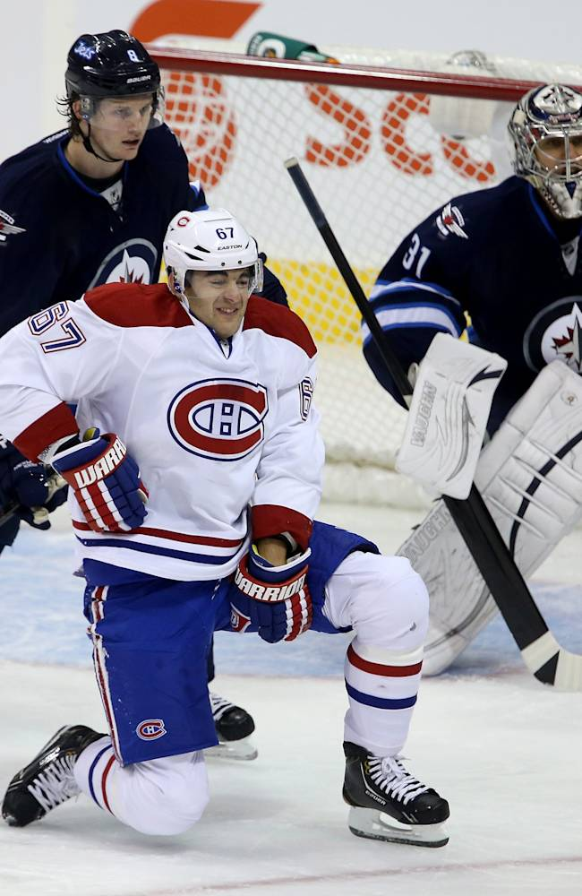 Pacioretty out 3 weeks with left hamstring injury