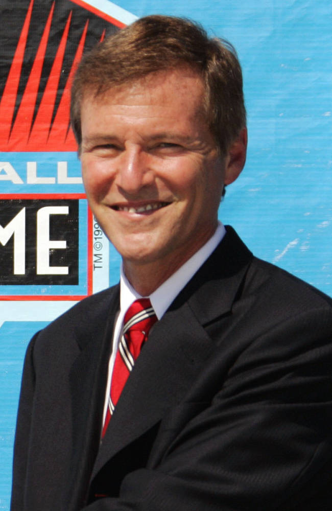 **FILE** In this Aug. 5, 2006, file photo, celebrity sports agent Leigh Steinberg poses during a ceremony at the Pro Football Hall of Fame in Canton, Ohio. Steinberg, who was one inspiration for the movie