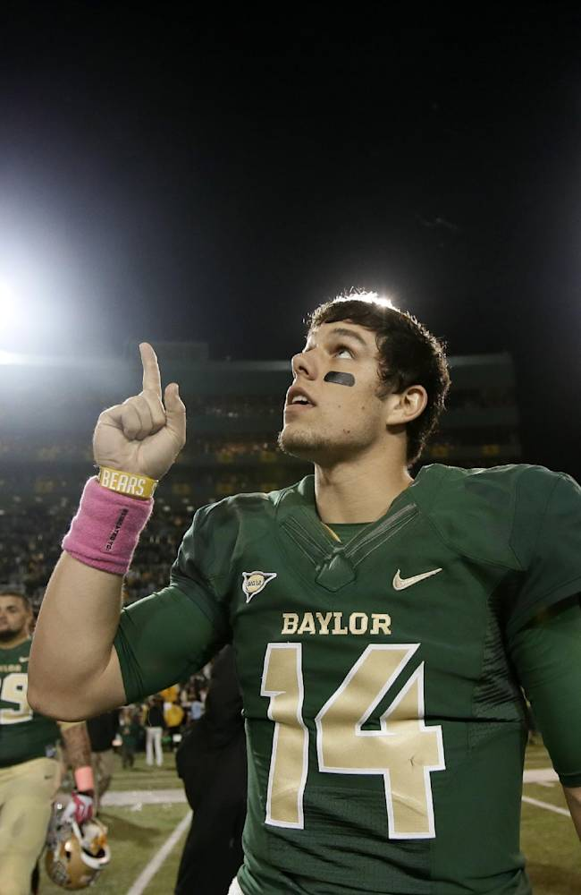 Baylor on rapid rise to 6th after another blowout