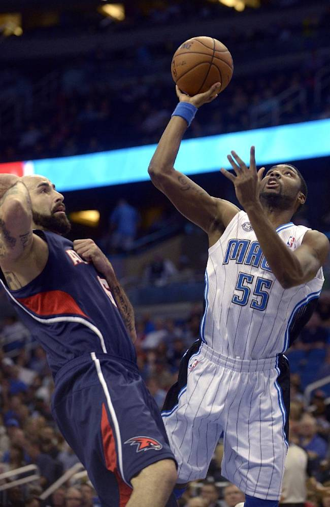 Magic beat Hawks for consecutive victories