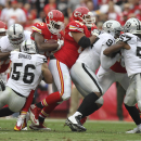 With Chiefs' Charles banged up, Davis steps up The Associated Press