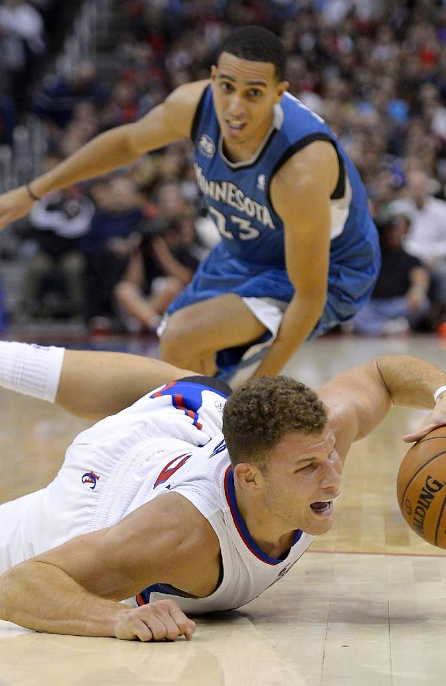 Clippers edge Timberwolves 109-107