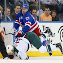 Minnesota Wild v New York Rangers Getty Images