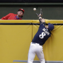 Braun back for Brewers, dropped to 5th in order The Associated Press