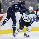 Klingberg has 4 points, Stars top Jets 5-2 The Associated Press