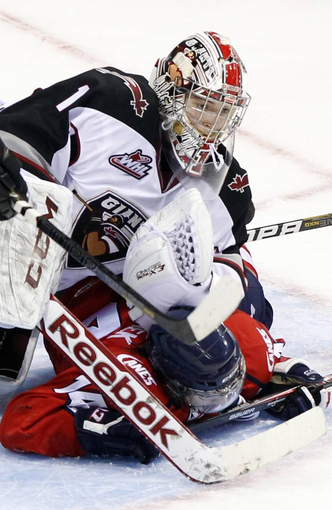 Lethbridge Hurricanes v Vancouver Giants