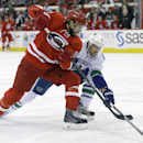 Canucks edge Hurricanes 3-2 The Associated Press