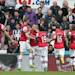 Arsenal 1, Newcastle United 0