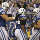 Brown getting 2nd chance to deliver for Colts The Associated Press